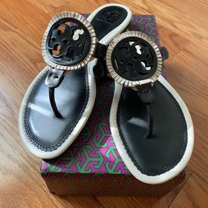 Never Worn. Tory Burch Miller Sandal. Size 7.